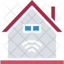 House Wifi Fidelity Wifi Signals Icon
