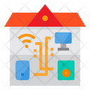 Home Smart Home Communication Icon