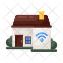 Smart Home Smart Technology Wireless Technology Icon