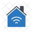 Wireless Wifi Home Icon