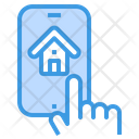 Smart Home Smartphone Application Icon