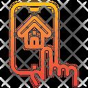 Smart Home Smartphone Application Icon