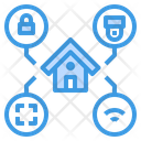 House Cctv Scan Icon