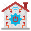 Smart Home Internet Icon