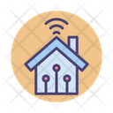 Smart Home Smart House Internet Icon