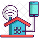 Smart Home Smart House Property Icon