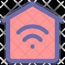 Smart Home Home Estate Icon