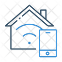 Smart Home Smart House Technology Icon