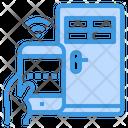 Smart Home Internet Of Things Key Lock Icon