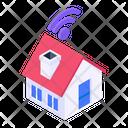 Wifi Home Smart Home Wifi House Icon