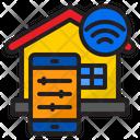 Smart Home Home Control Icon