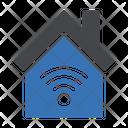 House Internet Smart Icon