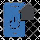 Smarthome Mobile Shutdown Icon