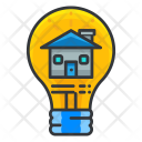 Home Lightbulb Smart Icon