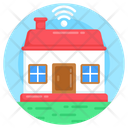 Smart Home Smart House Iot Icon