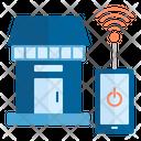 Smart Home Smart Shop Retail Icon