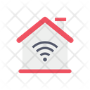 Smart Home House Building Icon
