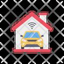 Smart Home Smart Garage Smart House Icon