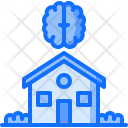 Smart House Brain Icon