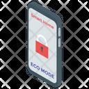 Smart Home App Eco Mode Eco App Icon