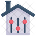 Smart Home Control System Icon