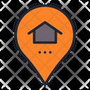 Smart Home Location Location Smart Home Icon