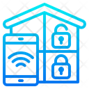 Smart Home Lock Icon