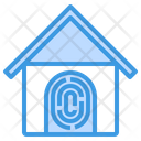 Smart home security Icon
