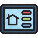 Smart Home Setting Panel Icon