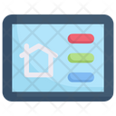 Smart Home Setting Panel Icon