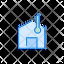 Smart Home Temperature Icon