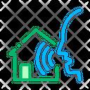 Smart Home Voice Control Icon