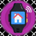 Smart Home Watch Smartwatch Smartband Icon