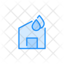 Smart Home Water Icon