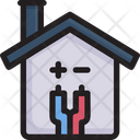 Smart Home Wiring Icon