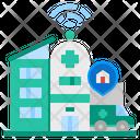 Smart Hospital Icon