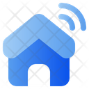 Smart House Iot Internet Of Things Icon