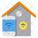 Smart House Internet Of Things Smart Home Icon