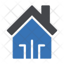 House Building Smart Icon