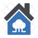 House Cloud Network Icon