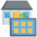 Smart House Tablet Control Icon