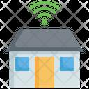 Smart House Smart Home Wifi Icon