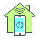 Smart House Smart Home Technology Icon