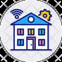 Smart House House Smart Icon