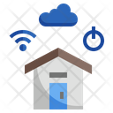 Smart House Smart Home Automation Icon