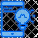 Smartphone Screen Lamp Icon