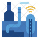 Smart Industry Internet Of Things Iot Icon