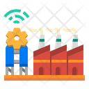 Factory Manufactory Powerplant Icon