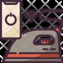 Clothing Iron Iron Board Remote Control Icon