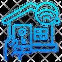 Smart Key Key Wifi Icon